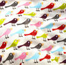 View Item Birds - Jumbo Make Up Bag / Wash Bag by Nicky James